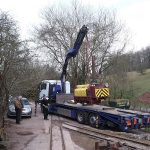 Loading at Clearwell