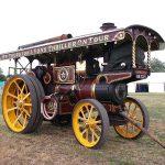 Foster showman's engine