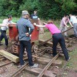 Re-railing the Eimco