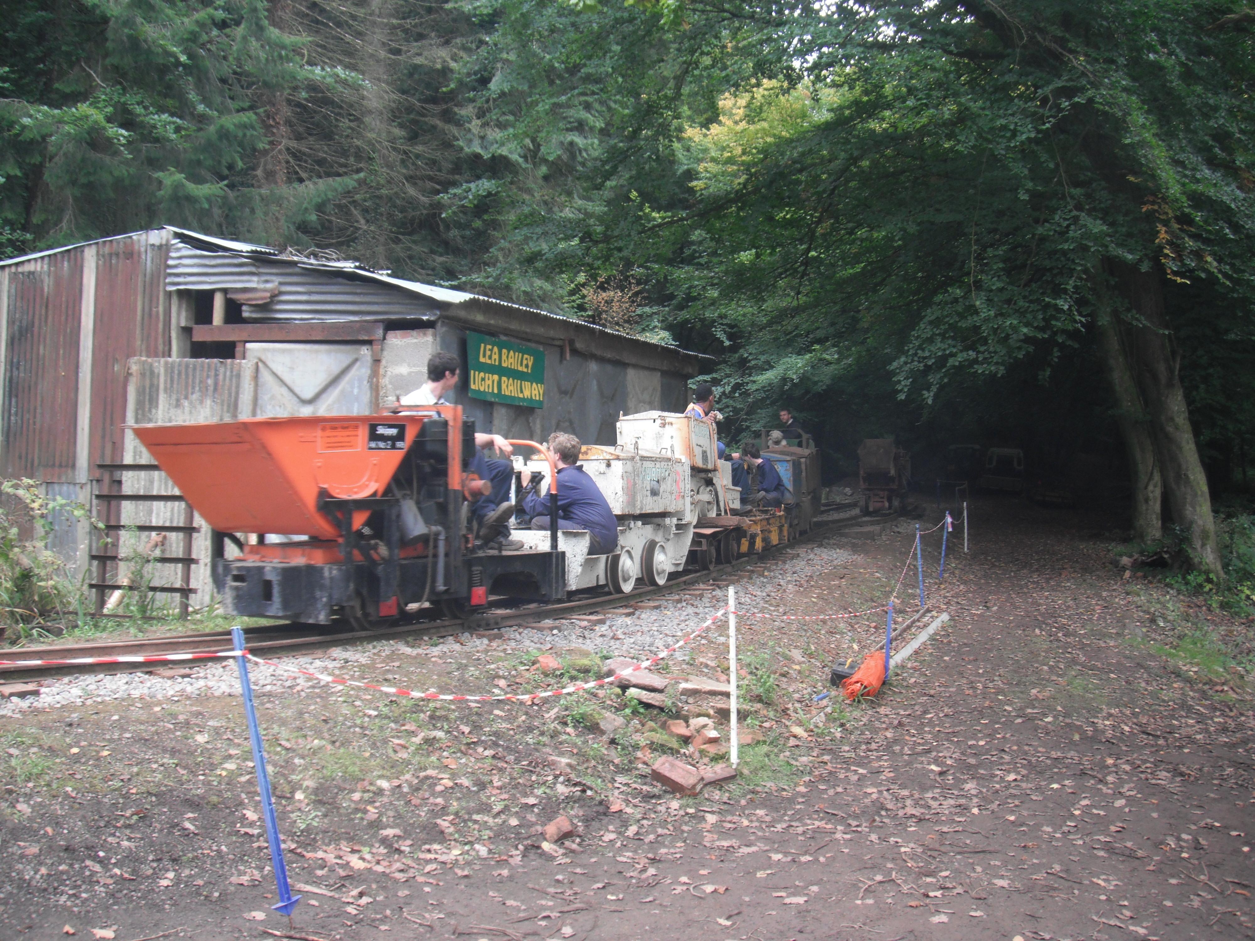 Open day locomotive cavalcade