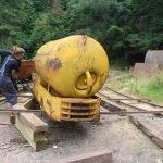 Sliding onto the rails