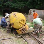 Tilting the locomotive