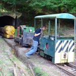Visiting Lister rail-truck