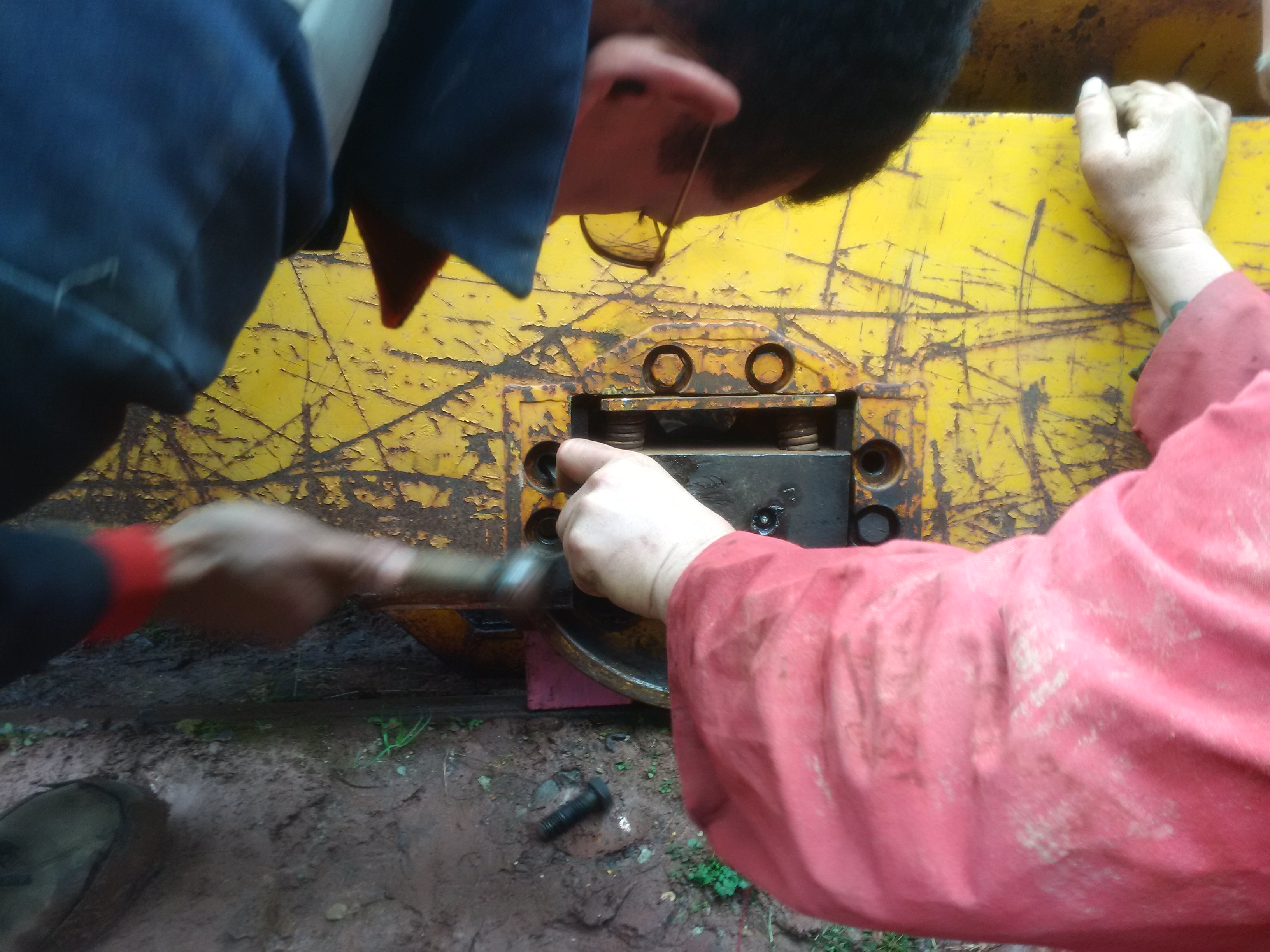 Percussive maintenance