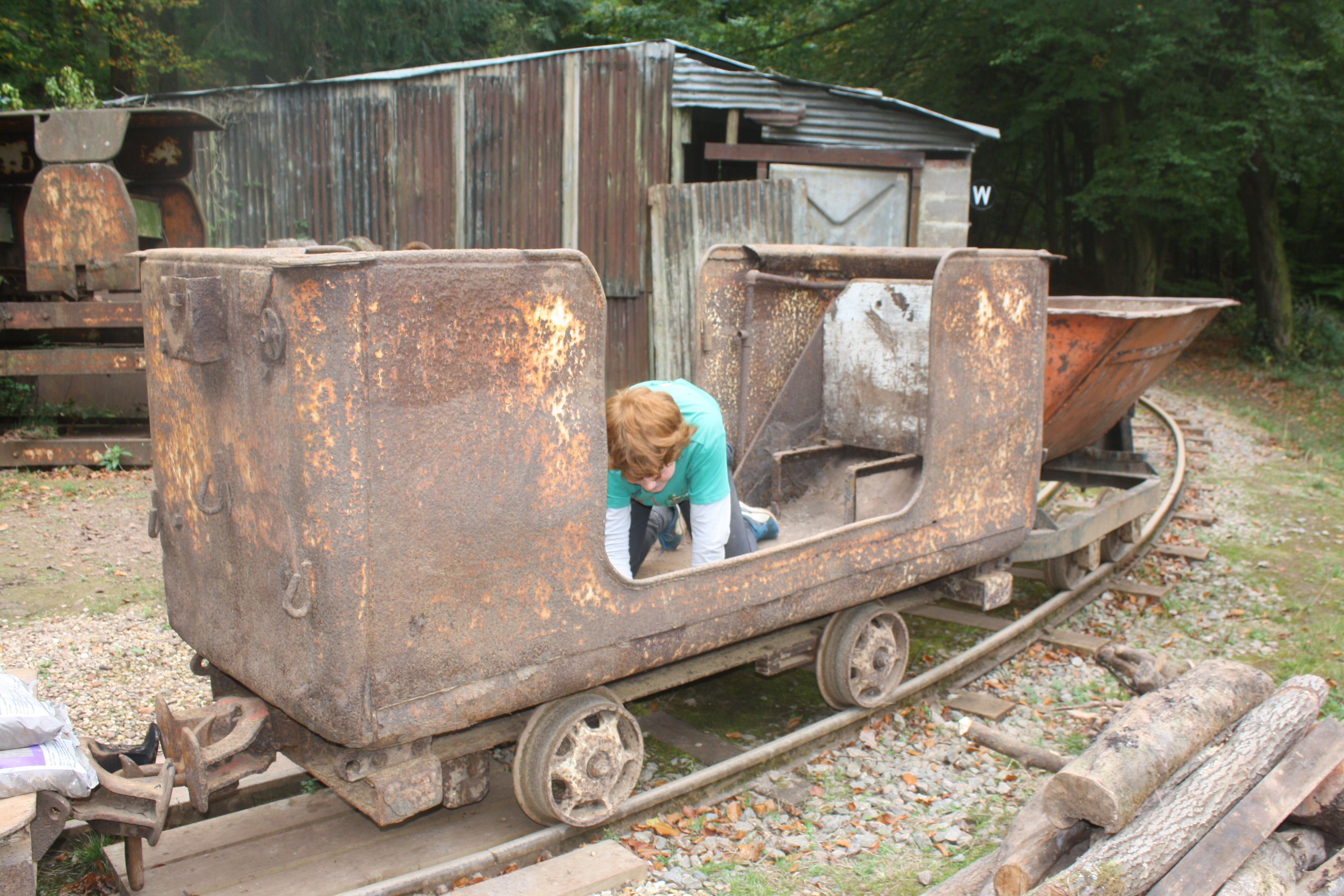 James cleaning out manrider wagon