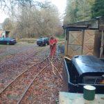 Compressor wagon leaf blower viewed from 21282
